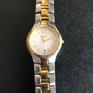 Coach watch.  Authentic watch needs battery
